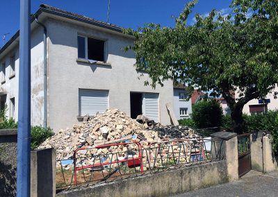 SCHILTIGHEIM - HEINRICH - Rénovation d'une maison en 2 logements 1